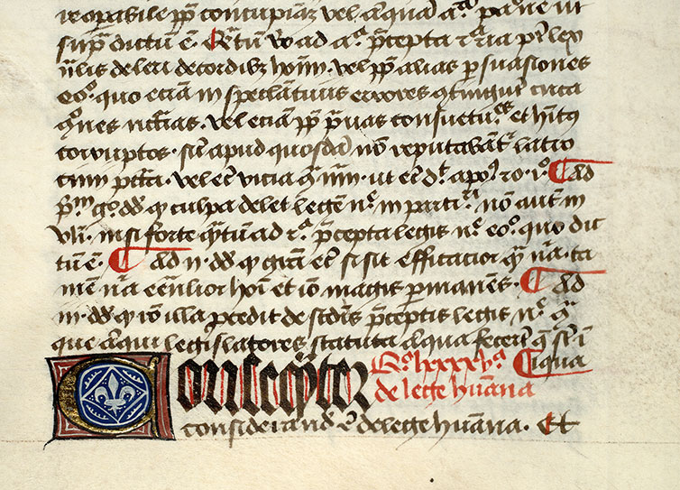 Paris, Bibl. Mazarine, ms. 0833, f. 127