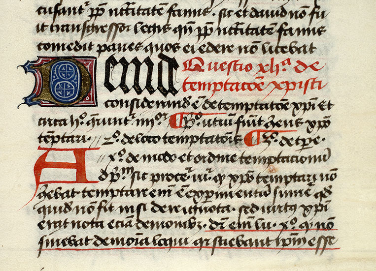 Paris, Bibl. Mazarine, ms. 0834, f. 091