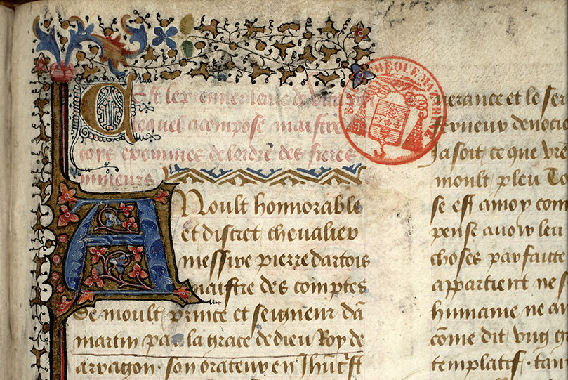 Paris, Bibl. Mazarine, ms. 0927, f. 009