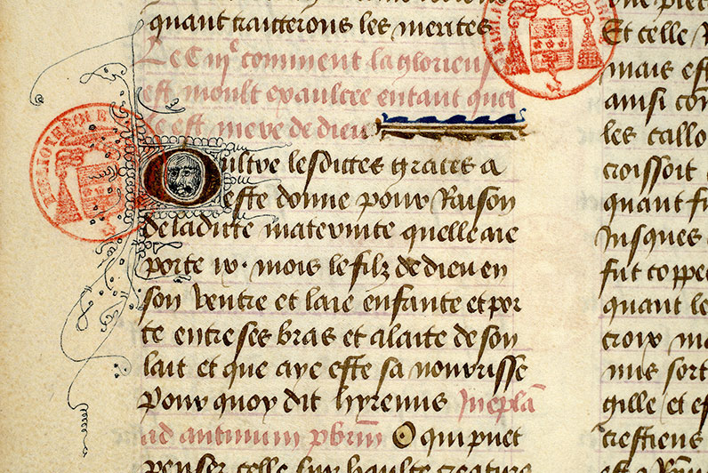 Paris, Bibl. Mazarine, ms. 0927, f. 115v