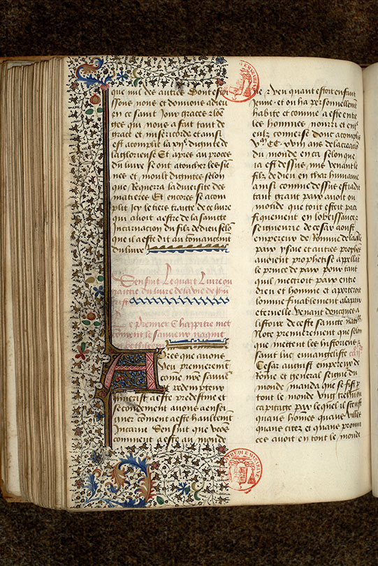 Paris, Bibl. Mazarine, ms. 0927, f. 129v