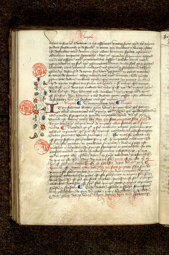Paris, Bibl. Mazarine, ms. 0969, f. 102v