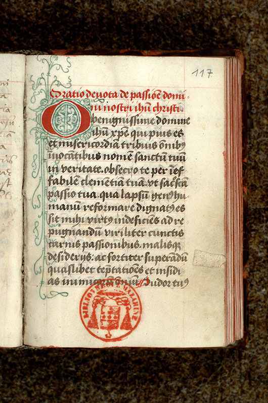 Paris, Bibl. Mazarine, ms. 0972, f. 117