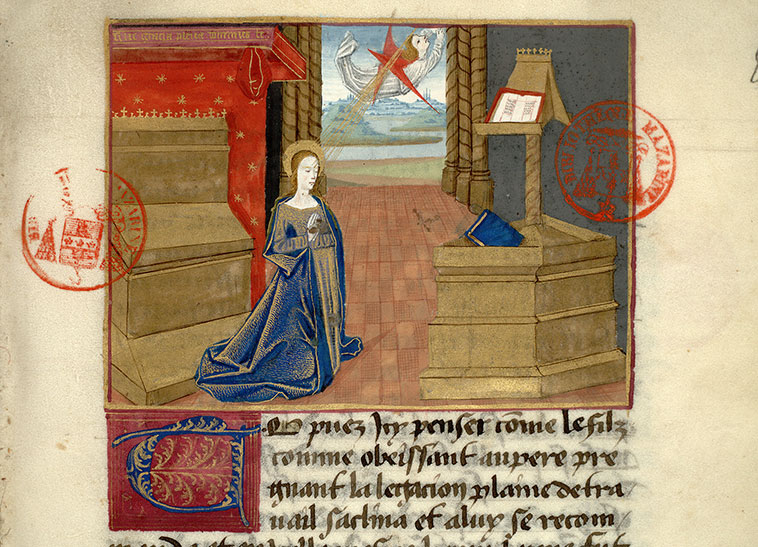 Paris, Bibl. Mazarine, ms. 0976, f. 008