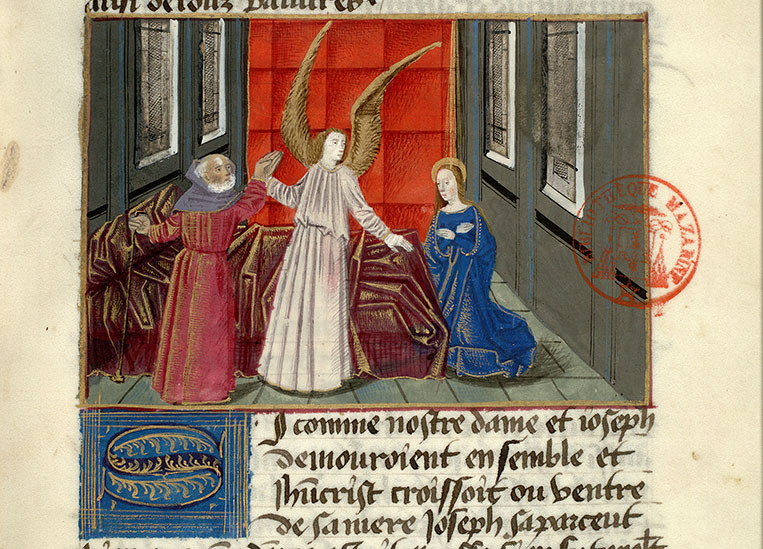 Paris, Bibl. Mazarine, ms. 0976, f. 012