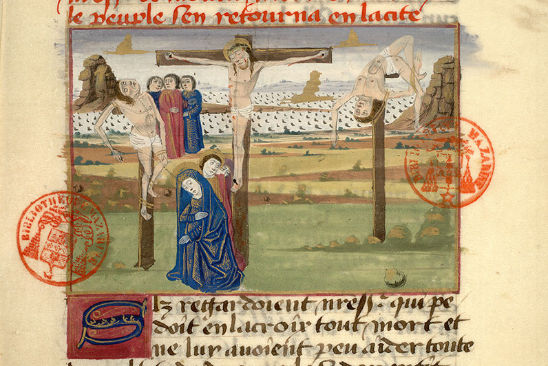 Paris, Bibl. Mazarine, ms. 0976, f. 096
