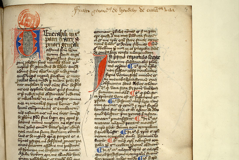 Paris, Bibl. Mazarine, ms. 0986, f. 059