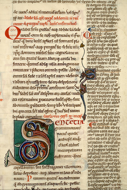 Paris, Bibl. Mazarine, ms. 1288, f. 181