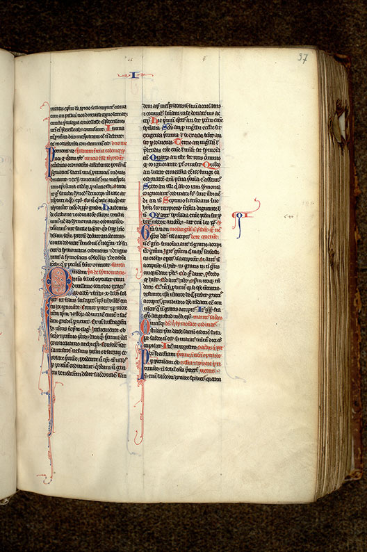 Paris, Bibl. Mazarine, ms. 1289, f. 097