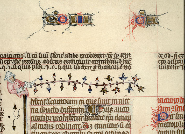 Paris, Bibl. Mazarine, ms. 1290, f. 171v