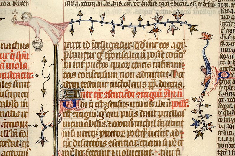 Paris, Bibl. Mazarine, ms. 1290, f. 323