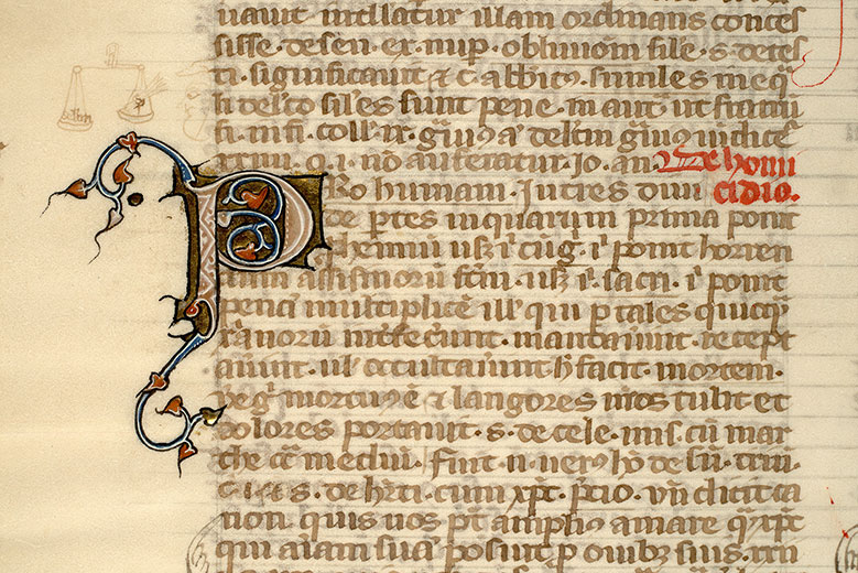 Paris, Bibl. Mazarine, ms. 1301, f. 252v