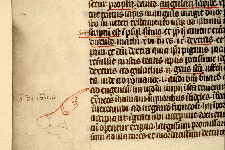 Paris, Bibl. Mazarine, ms. 1303, f. 022v