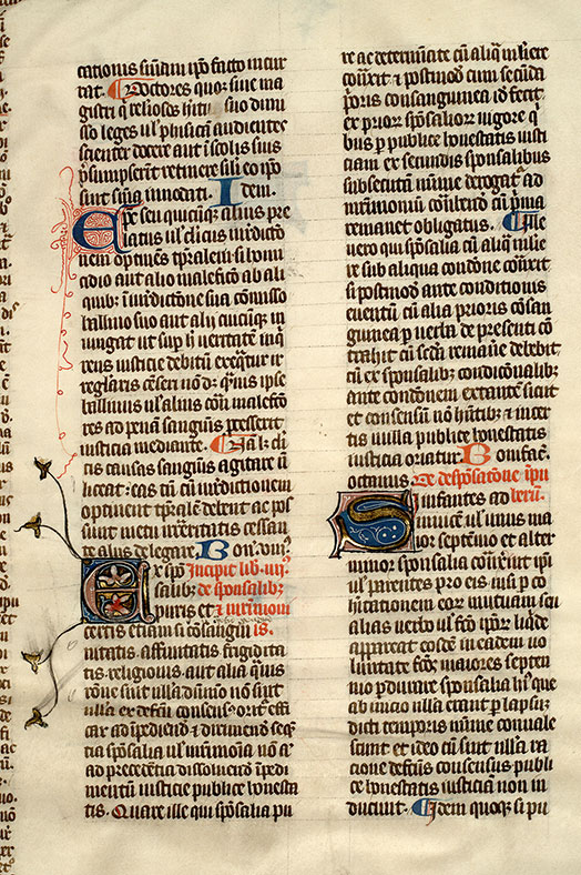 Paris, Bibl. Mazarine, ms. 1303, f. 063