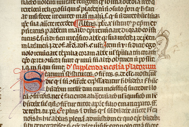 Paris, Bibl. Mazarine, ms. 1313, f. 045