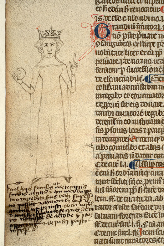 Paris, Bibl. Mazarine, ms. 1313, f. 045v