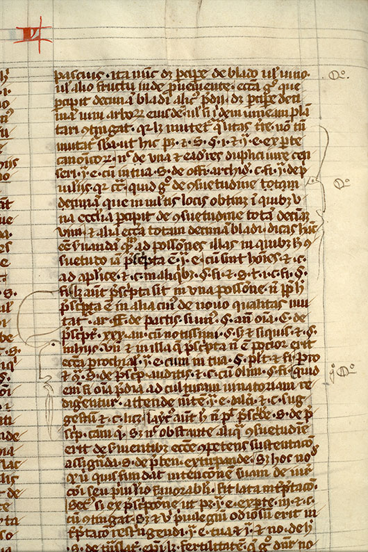 Paris, Bibl. Mazarine, ms. 1314, f. 133v