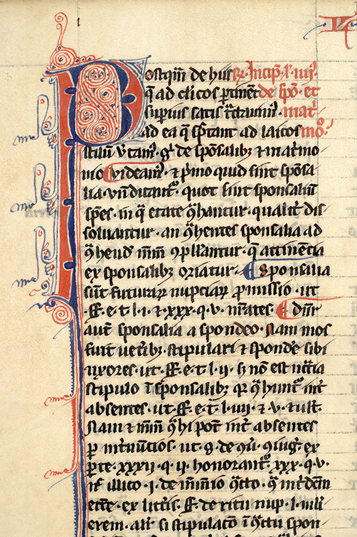 Paris, Bibl. Mazarine, ms. 1315, f. 171v