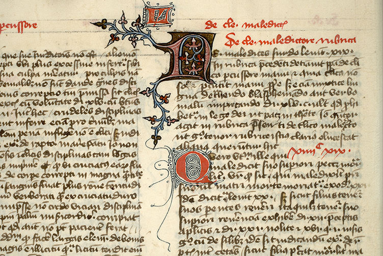Paris, Bibl. Mazarine, ms. 1323, f. 004v