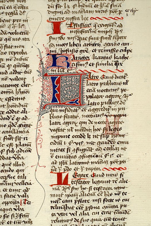 Paris, Bibl. Mazarine, ms. 1330, f. 152