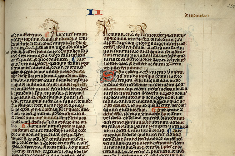 Paris, Bibl. Mazarine, ms. 1332, f. 134