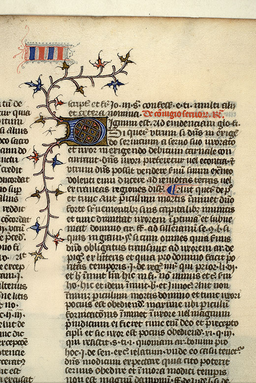 Paris, Bibl. Mazarine, ms. 1334, f. 182