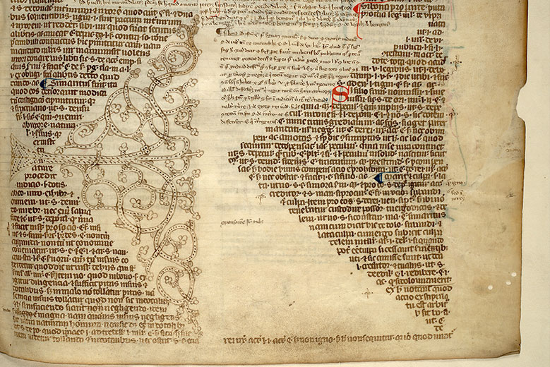 Paris, Bibl. Mazarine, ms. 1409, f. 004