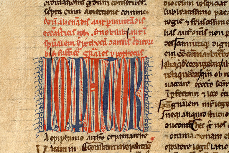 Paris, Bibl. Mazarine, ms. 1410, f. 010v