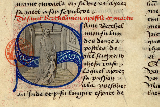 Paris, Bibl. Mazarine, ms. 1560, f. 019v