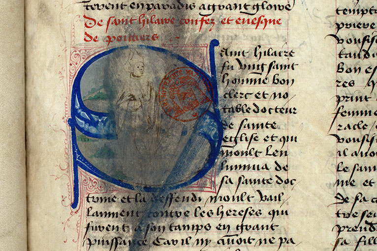 Paris, Bibl. Mazarine, ms. 1560, f. 116