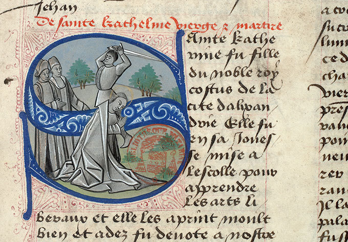Paris, Bibl. Mazarine, ms. 1560, f. 148