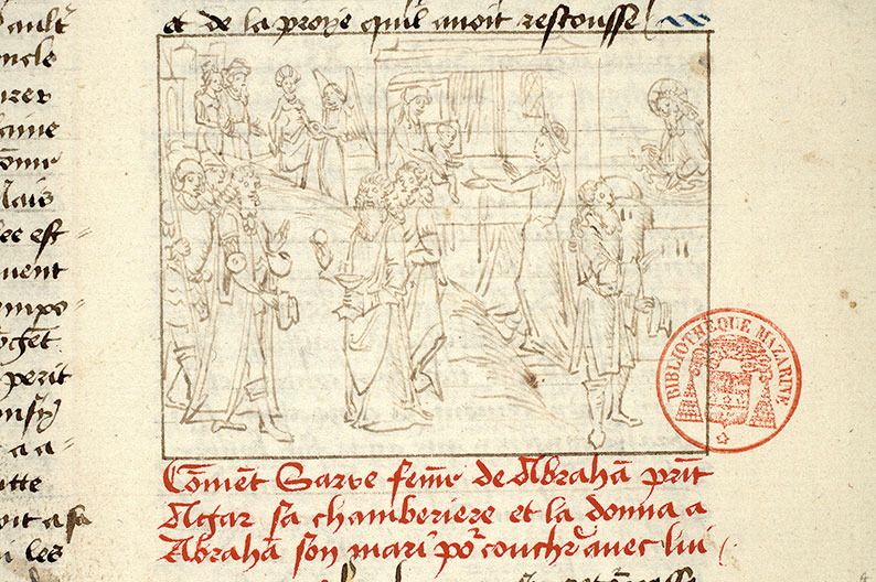 Paris, Bibl. Mazarine, ms. 1562, f. 024