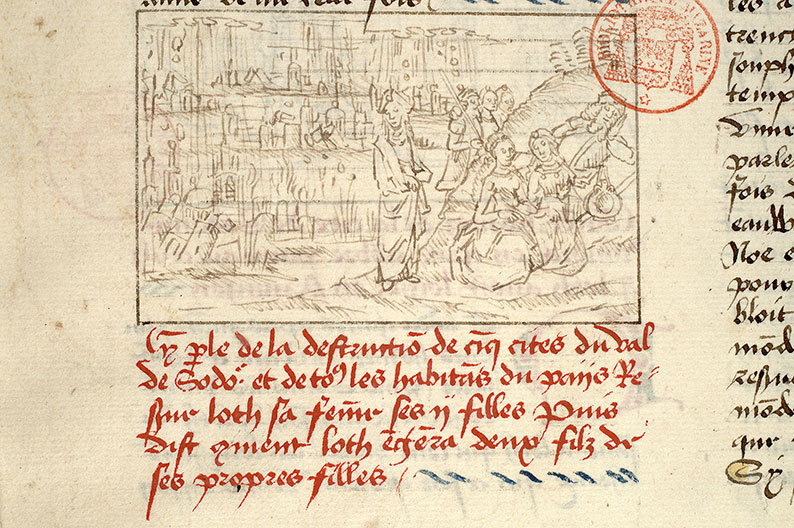 Paris, Bibl. Mazarine, ms. 1562, f. 025v