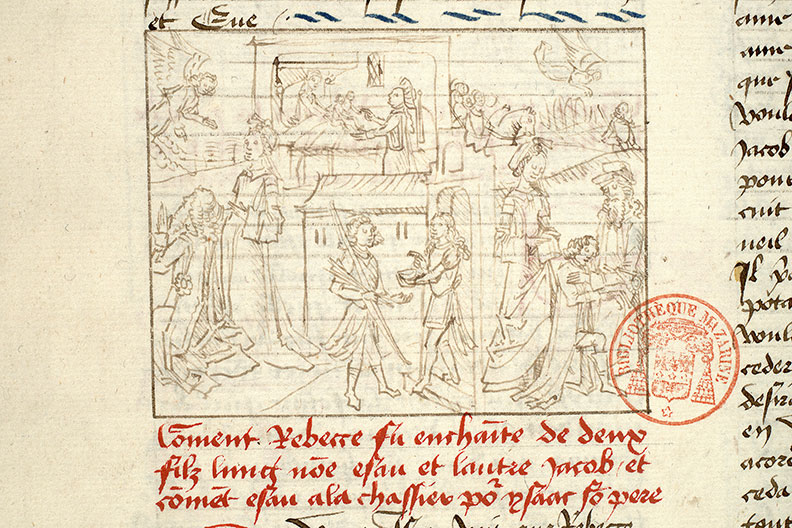 Paris, Bibl. Mazarine, ms. 1562, f. 027v