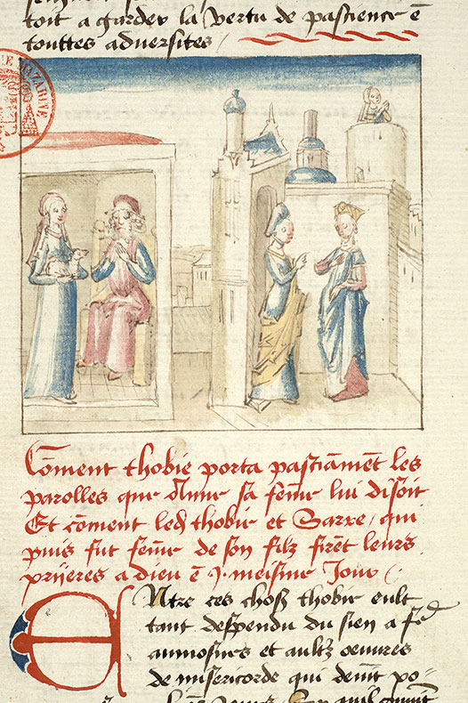 Paris, Bibl. Mazarine, ms. 1562, f. 122