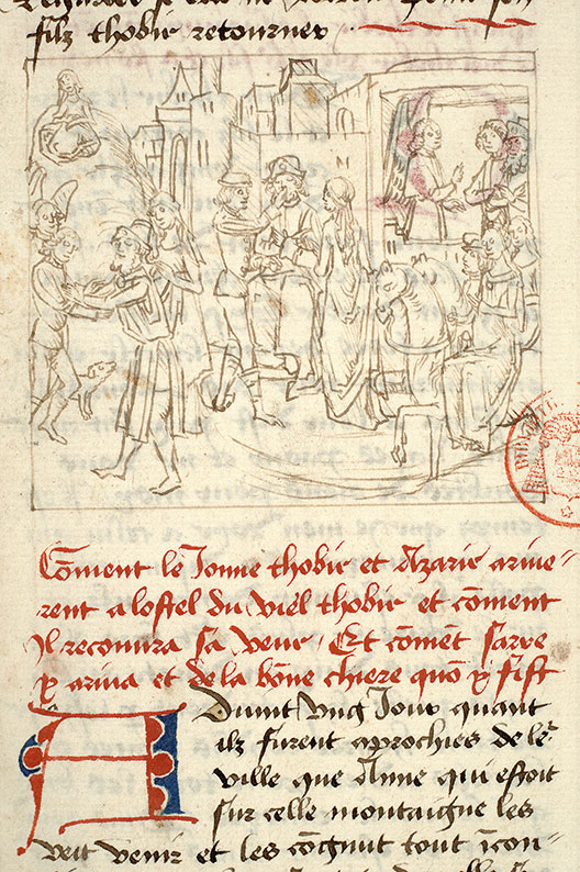 Paris, Bibl. Mazarine, ms. 1562, f. 126