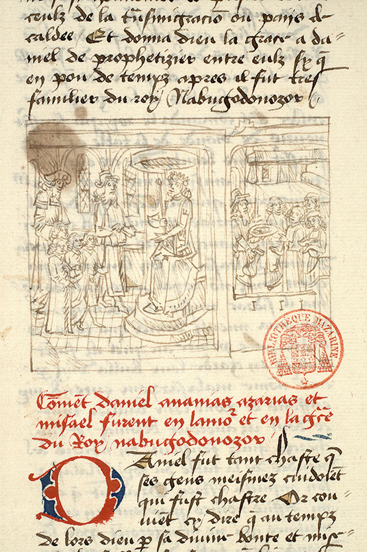 Paris, Bibl. Mazarine, ms. 1562, f. 130