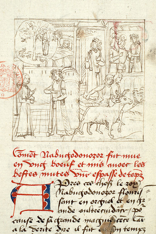 Paris, Bibl. Mazarine, ms. 1562, f. 132v
