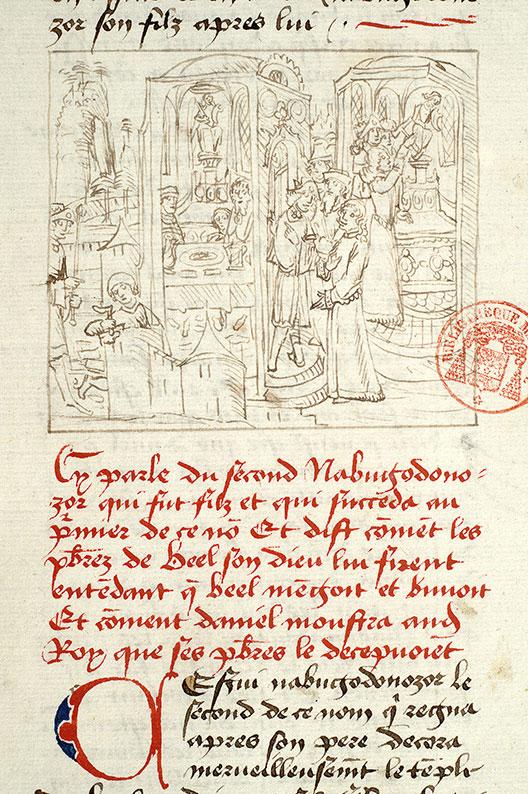 Paris, Bibl. Mazarine, ms. 1562, f. 133v