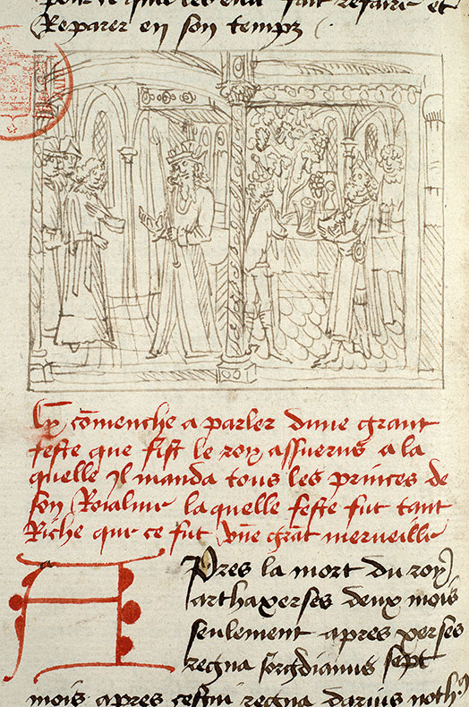 Paris, Bibl. Mazarine, ms. 1562, f. 146v