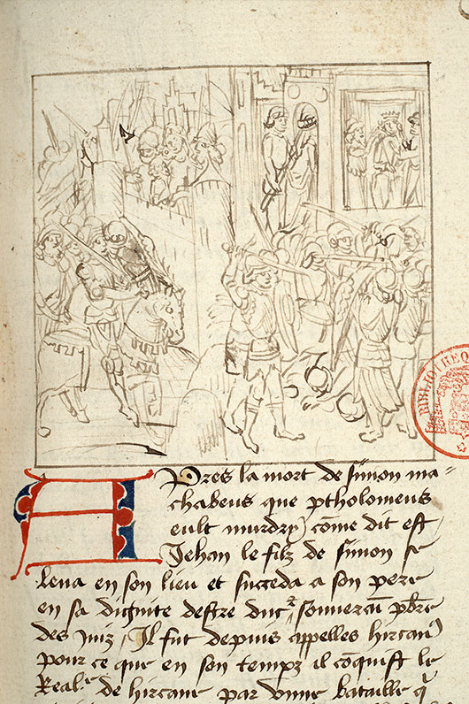 Paris, Bibl. Mazarine, ms. 1562, f. 163