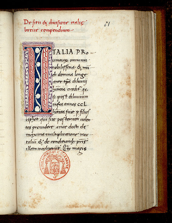 Paris, Bibl. Mazarine, ms. 1599, f. 061