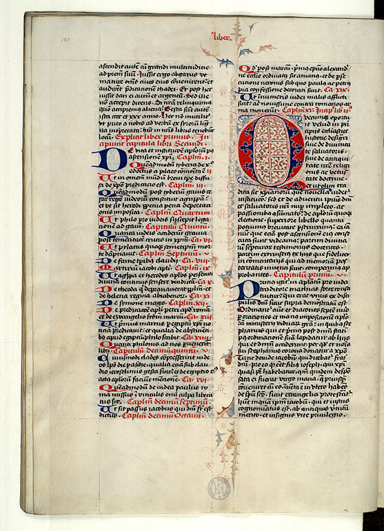 Paris, Bibl. Mazarine, ms. 1640, f. 009v