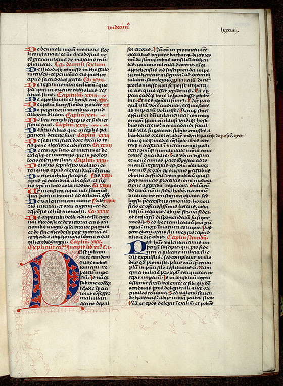 Paris, Bibl. Mazarine, ms. 1640, f. 088