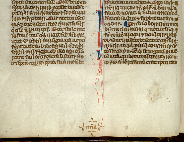 Paris, Bibl. Mazarine, ms. 1720, f. 036v