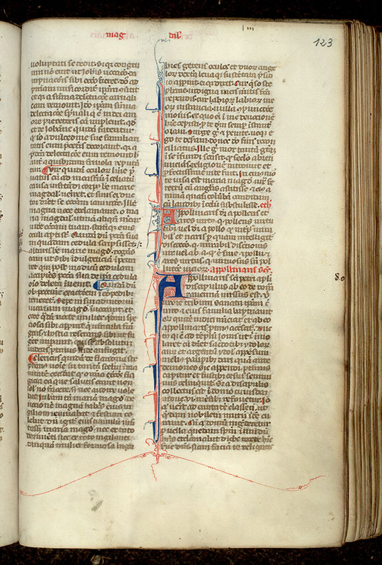 Paris, Bibl. Mazarine, ms. 1720, f. 123