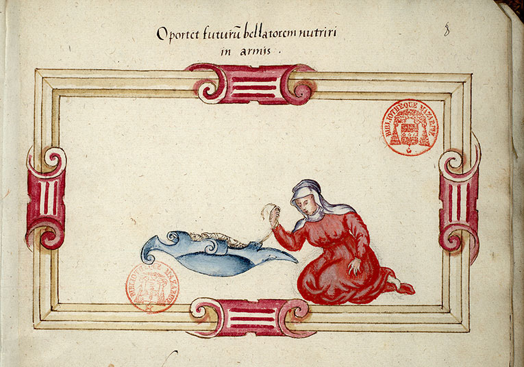 Paris, Bibl. Mazarine, ms. 3267, f. 008