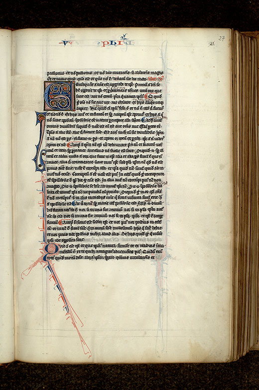 Paris, Bibl. Mazarine, ms. 3458, f. 027