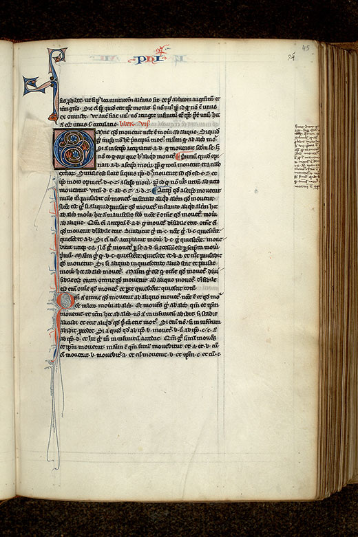 Paris, Bibl. Mazarine, ms. 3458, f. 045