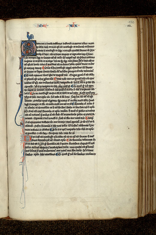 Paris, Bibl. Mazarine, ms. 3458, f. 172